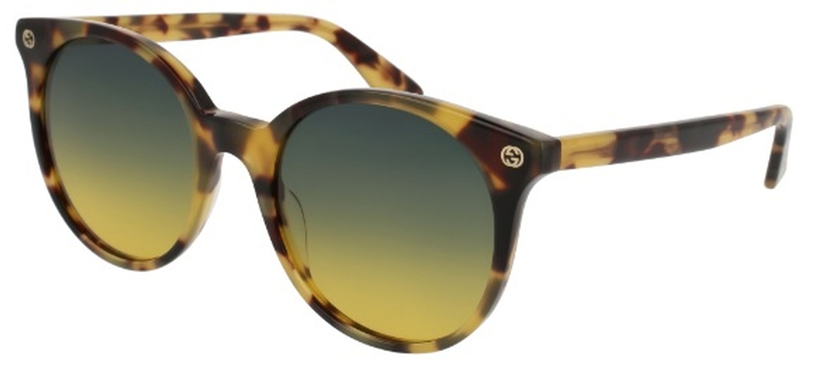 fb9710c9b3 Gucci GG0091S Japanese Tortoise with Gradient Grey Yellow Lenses. Japanese  Tortoise with Gradient Grey Yellow Lenses