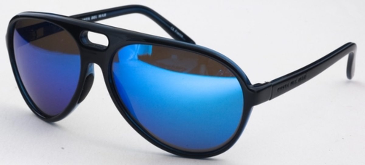 7cff03012da Costa Del Mar Grand Catalina Shiny Black with Polarized Brown Blue Mirror  Glass Lenses. Shiny Black with Polarized Brown Blue Mirror Glass Lenses