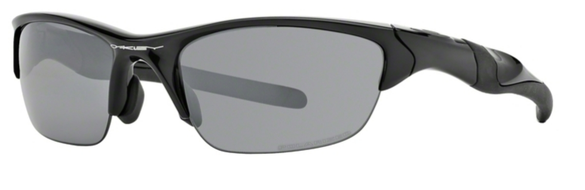 Oakley Half Jacket 2.0 (Asian Fit) OO9153 04 Polished Black with Polarized  Black Iridium. 04 Polished Black with Polarized Black Iridium e7c82be1b130
