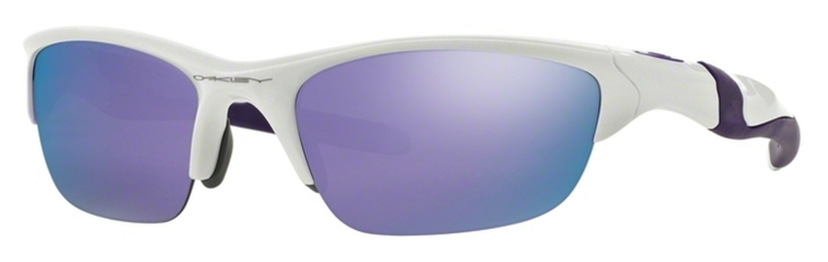 3d93d68113710 Oakley Half Jacket 2.0 OO9144 08 Pearl with Violet Iridium Lenses. 08 Pearl  with Violet Iridium Lenses