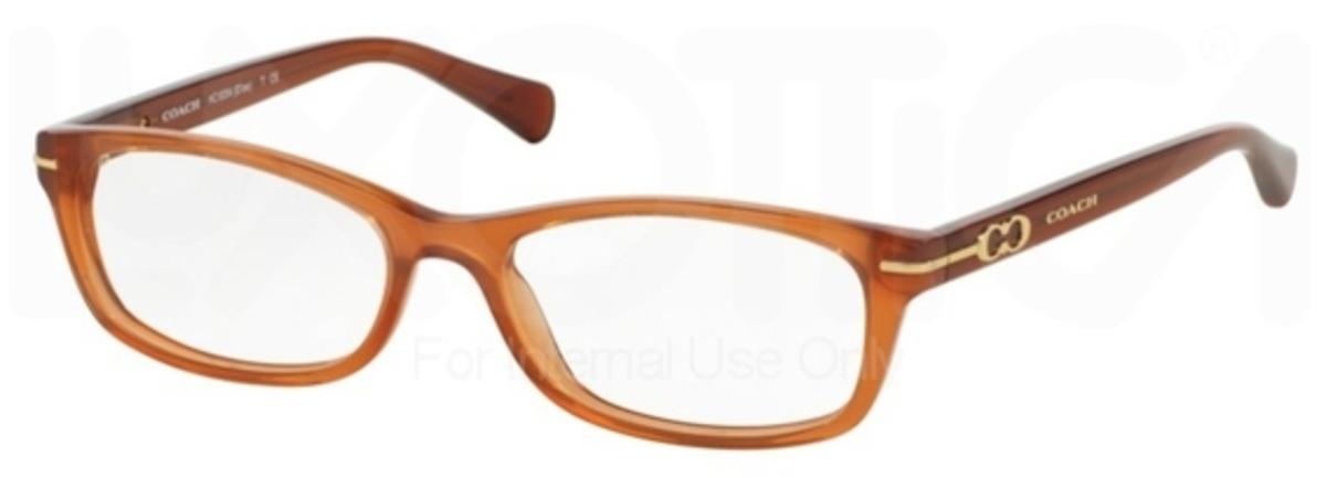 Coach Eyeglass Frame Warranty : Coach HC6054 ELISE Eyeglasses Frames