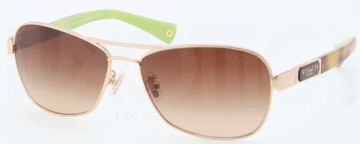 c020d8d0d7c88 ... where to buy coach hc7012 l038 caroline gold tortoise with brown  gradient lenses. gold tortoise