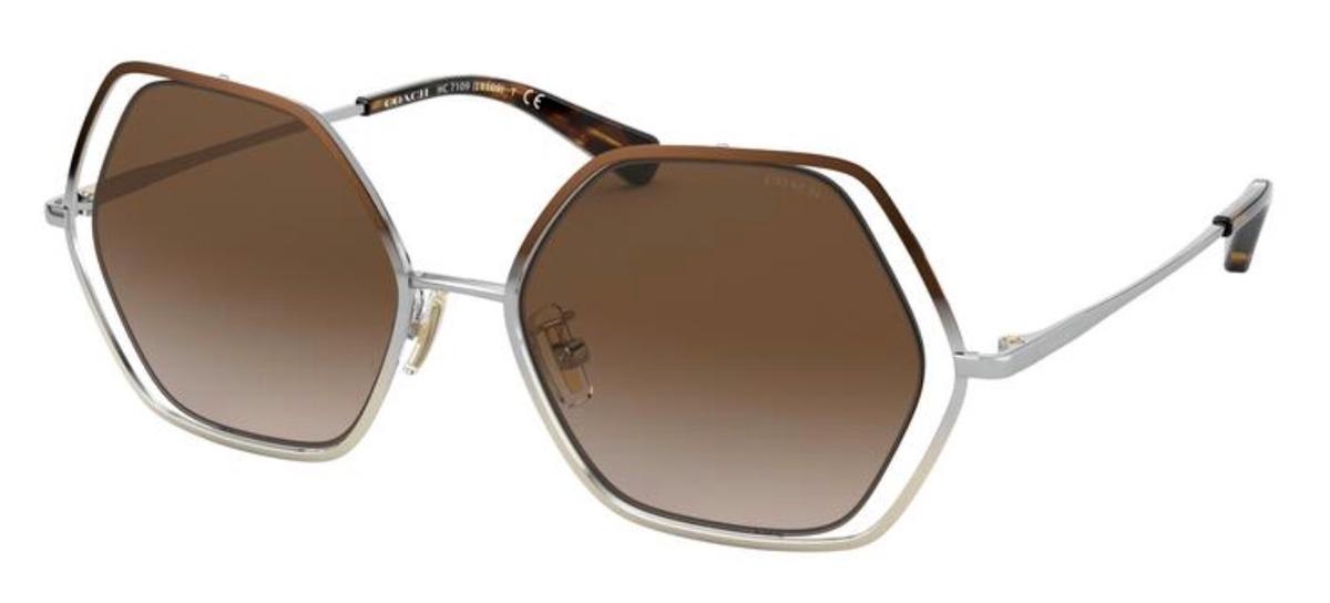 HC 7109 Sunglasses SHINY BROWN/SILVER/LIGHT