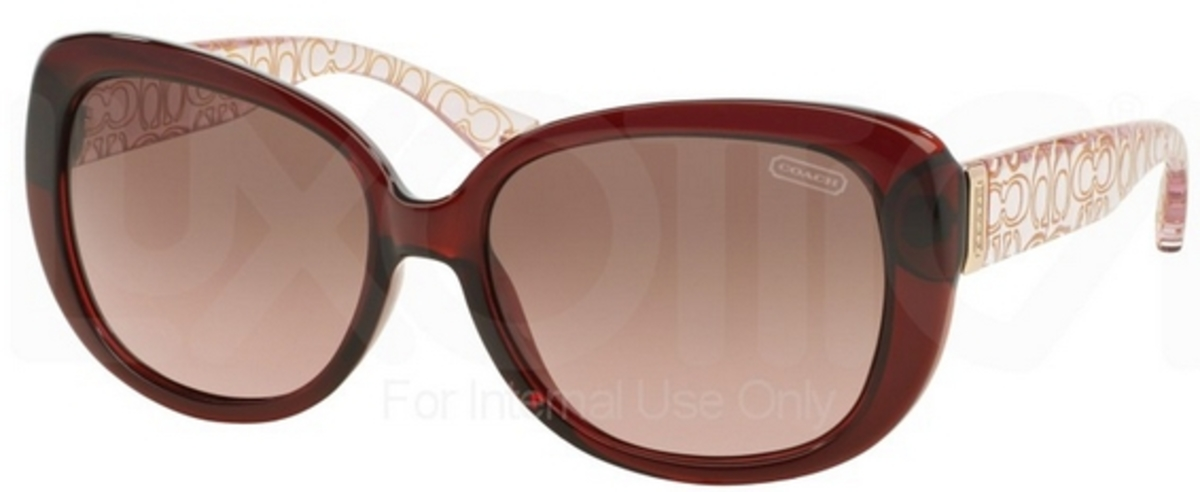Coach Eyeglass Frame Warranty : Coach HC8076 L067 LAURIN Sunglasses