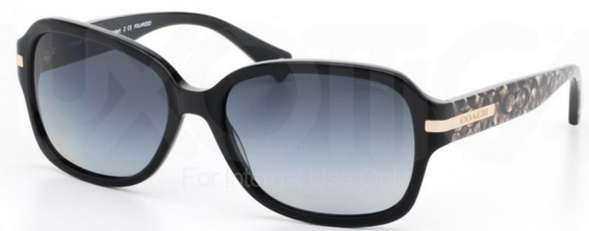 2c6ef233922 canada coach womens hc8105 sunglasses 7b4f3 5a4a4  ireland black beige  ocelot sig c w grey gradient polarized lenses coach hc8105 l082 b7474 2f792