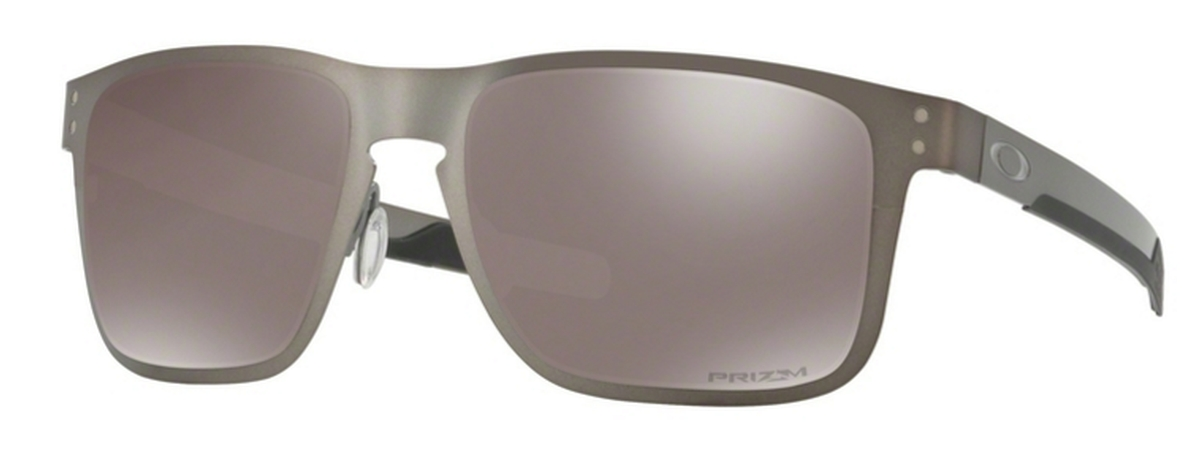 9e0f7c9d9a 06 Matte Gunmetal with Polarized Prizm Black Lenses. Oakley HOLBROOK METAL  OO4123 ...