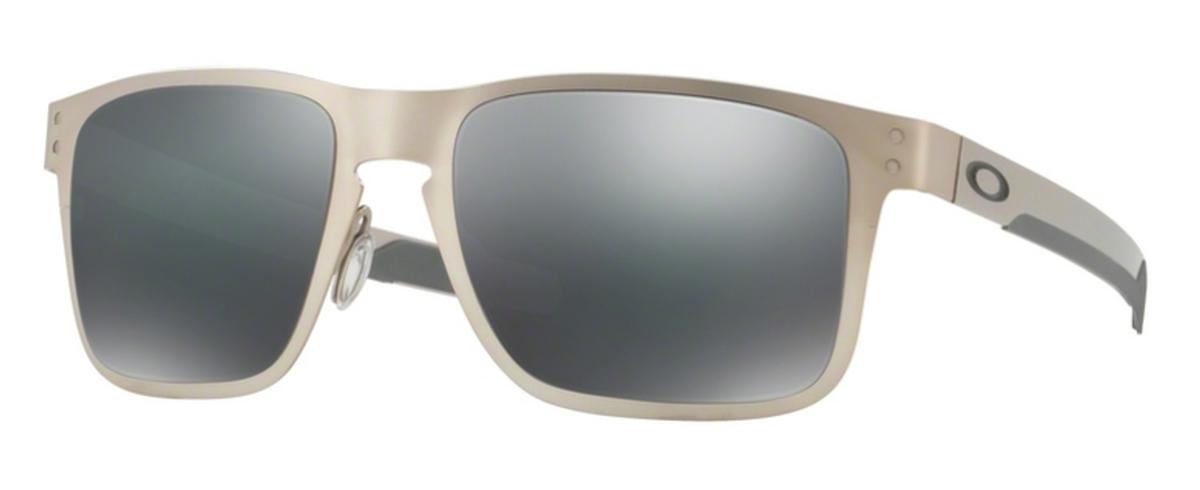 f616d78ed51 03 Satin Chrome with Black Iridium Lenses. Oakley HOLBROOK METAL OO4123 04  Matte Black with Jade Iridium Lenses