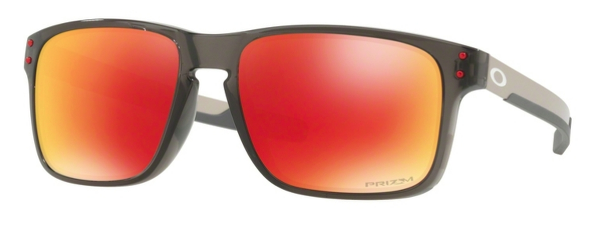 ed11bce1e96d8 07 Grey Smoke with Prizm Ruby Polarized Lenses · Oakley Holbrook Mix OO9384  08 Matte Rootbeer with Prizm Tungsten Polarized Lenses