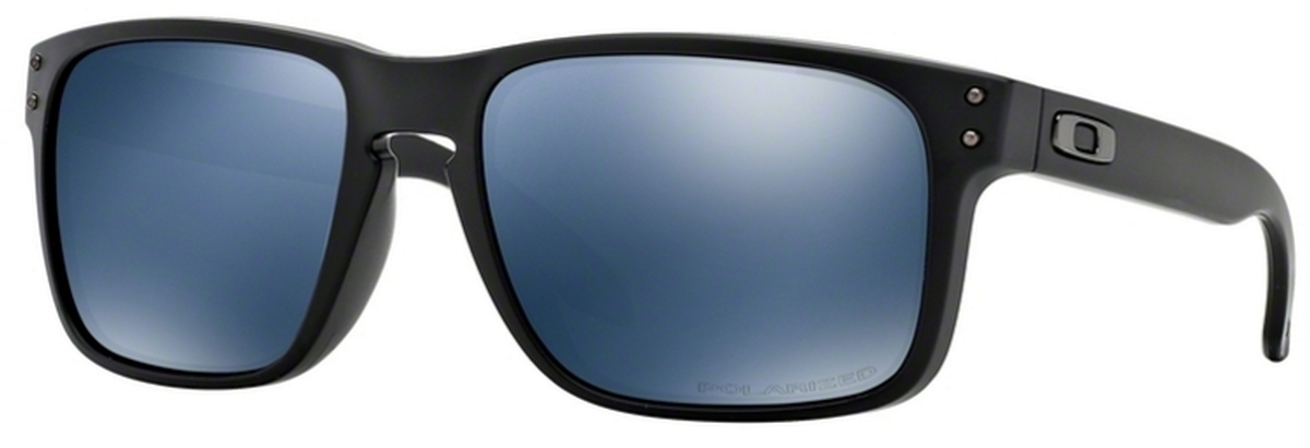 cc3819d39f 52 Matte Black   Polarized Ice Iridium · Oakley Holbrook OO9102 ...