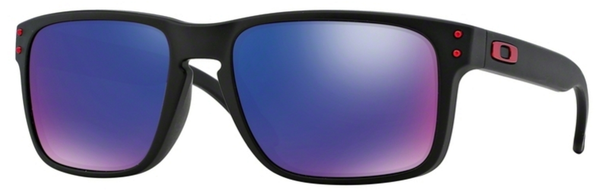 d45c1110e7 36 Matte Black   +Red Iridium · Oakley Holbrook ...