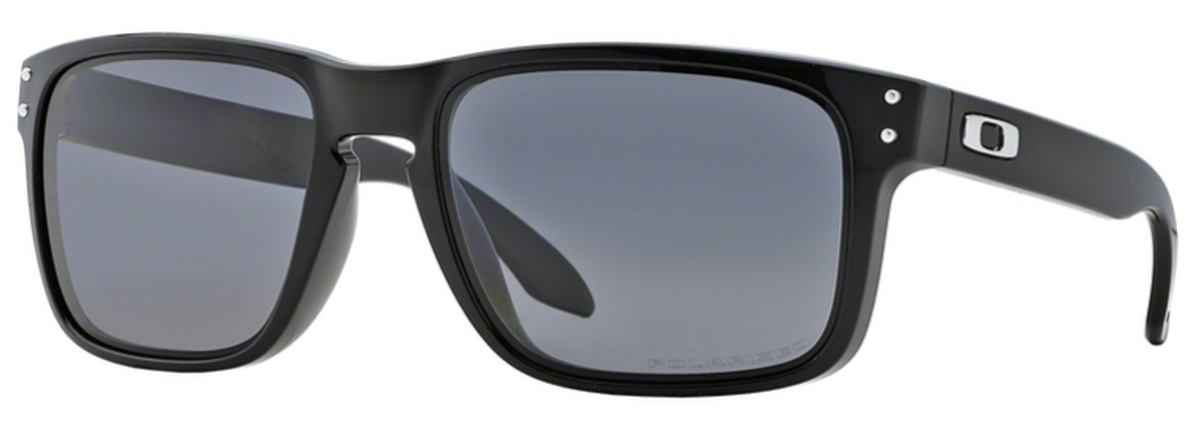 dadffcb428 02 Polished Black   Polarized Grey · Oakley Holbrook ...