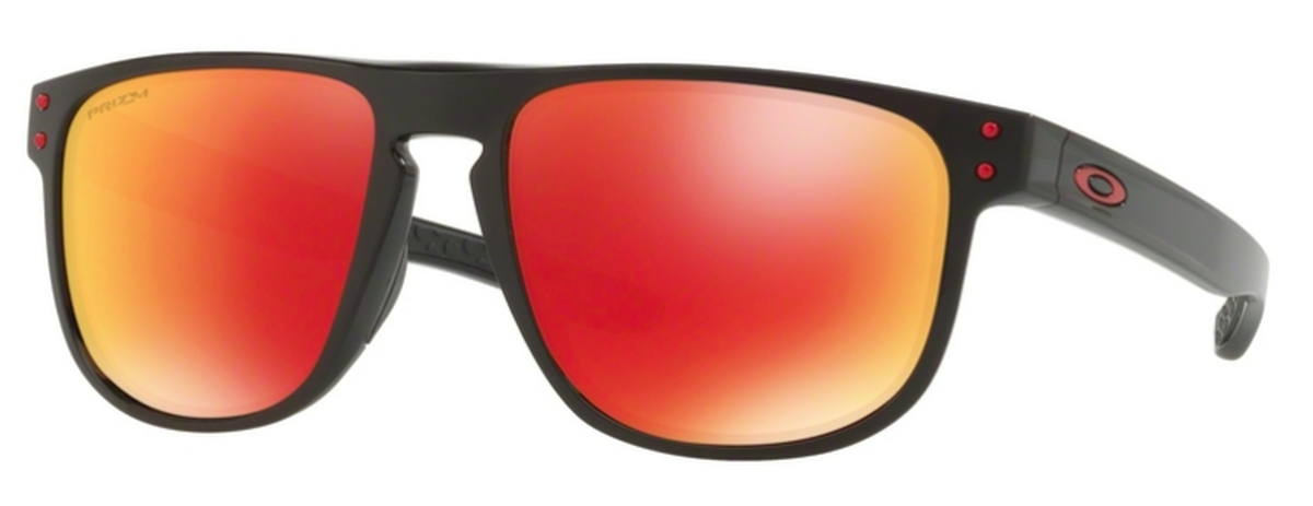 0977cd10a5a 07 Polished Black with Prizm Ruby Polarized Lenses. Oakley Holbrook R OO9377  08 Scenic Grey ...