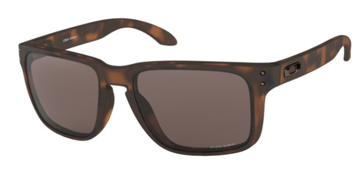 1a918164c6 02 Matte Brown Tortoise with Prizm Black Lenses. Oakley Holbrook XL OO9417  03 Polished ...