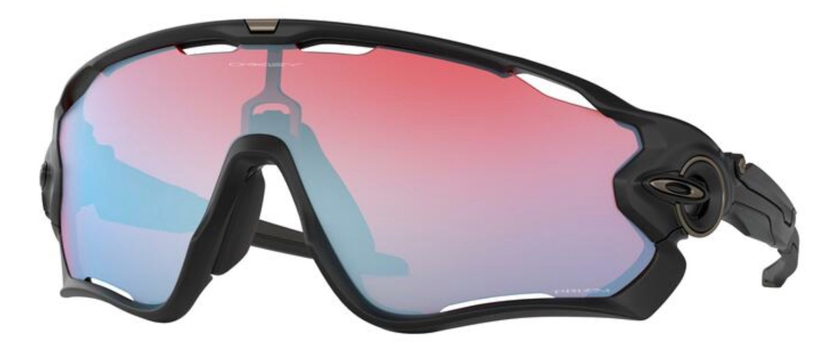 Jawbreaker OO 9290 Sunglasses Matte Black / Prizm Snow Sapphire