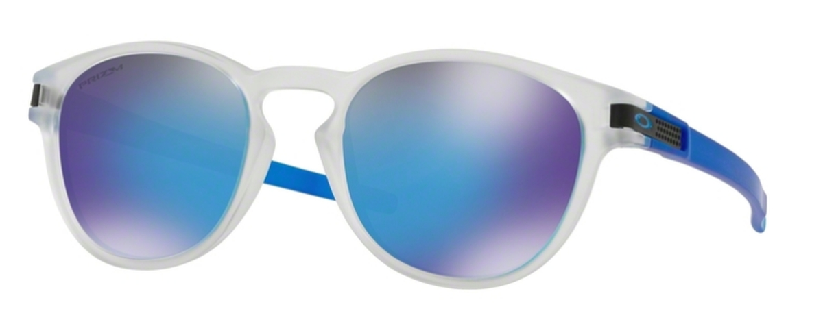 e2db4ebd0a 42 Grid Matte Translucent Blue w  Prizm Sapphire · Oakley Latch OO9265 48  Matte Clear with Prizm Sapphire. 48 Matte Clear with Prizm Sapphire