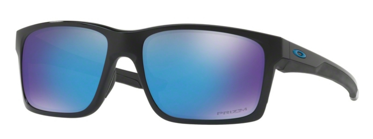 256b37da76 30 Polished Black with Prizm Sapphire Lenses · Oakley MAINLINK OO9264 34  Matte Black with Polarized Prizm ...