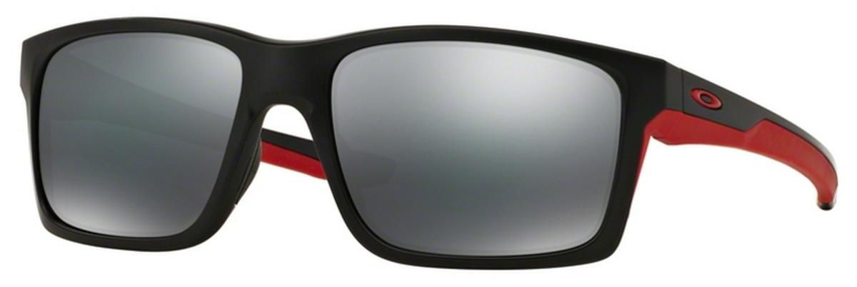 12 Matte Black/Red with Black Iridium Lenses