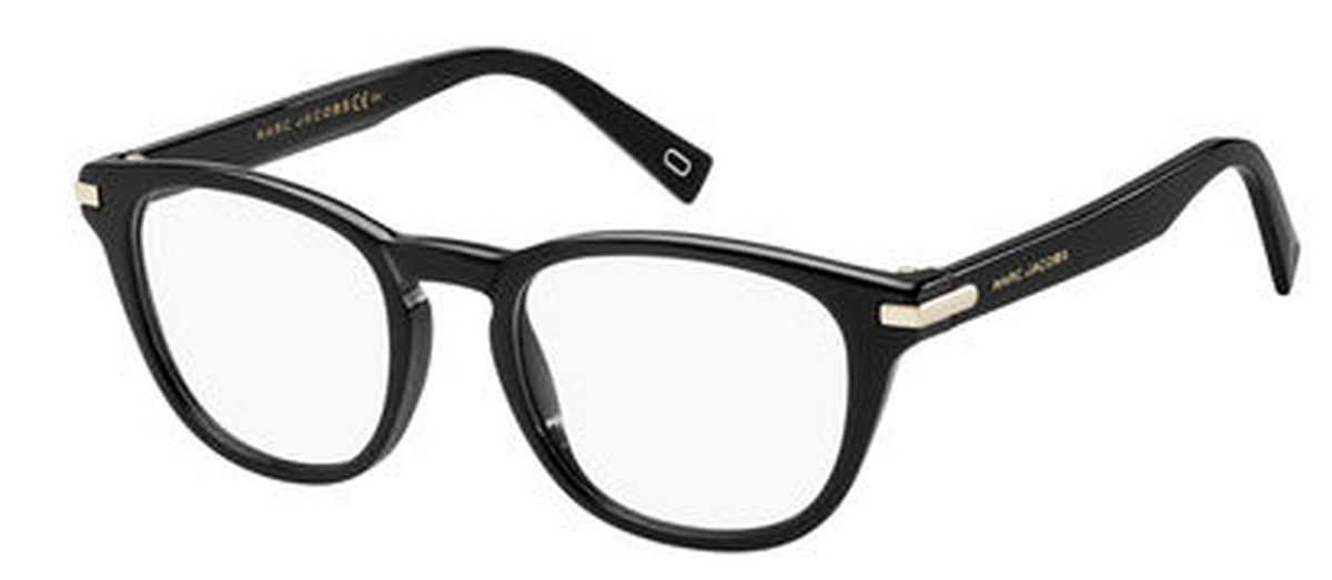 marc jacobs marc 189 eyeglasses frames Mirrored Ray Bans black