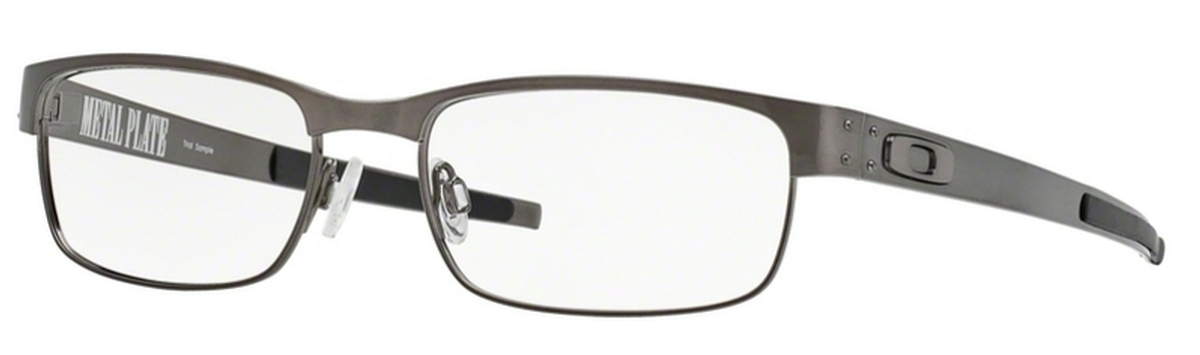 008a9d957e2 05 Matte Black. Oakley Metal Plate OX5038 06 Brushed Chrome. 06 Brushed  Chrome
