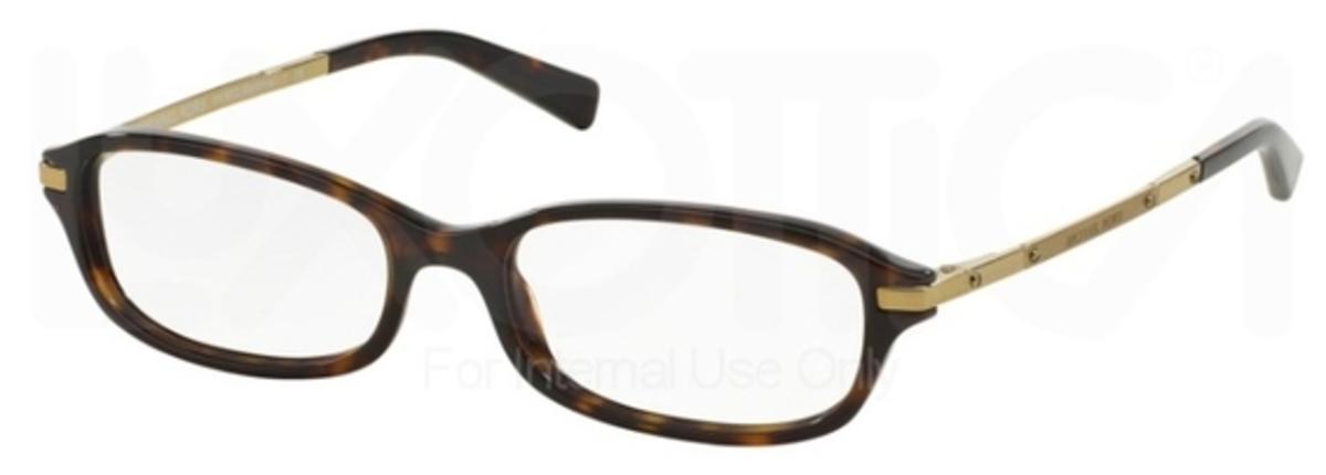 Michael Kors Black Frame Glasses : Michael Kors MK4002 Eyeglasses Frames
