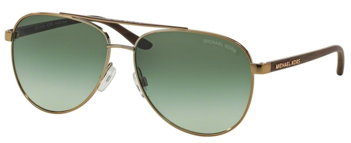 c54b6fa194633 Gold Wood w  Green Gradient Lenses. Michael Kors MK5007 HVAR ...