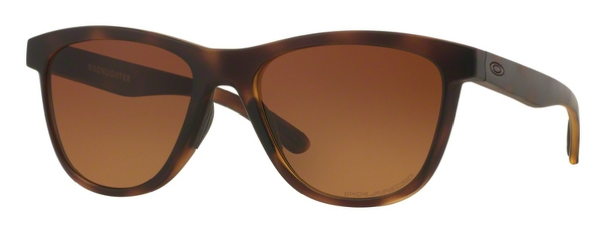 0f2f6557d4b 04 Brown Tortoise with Brown Gradient Polar · Oakley Moonlighter OO9320 07  Dark Ink Fade with Chrome Iridium Polarized