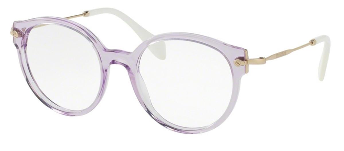 5fb5e40407 Miu Miu MU 04PVA Transperent Lilac. Transperent Lilac