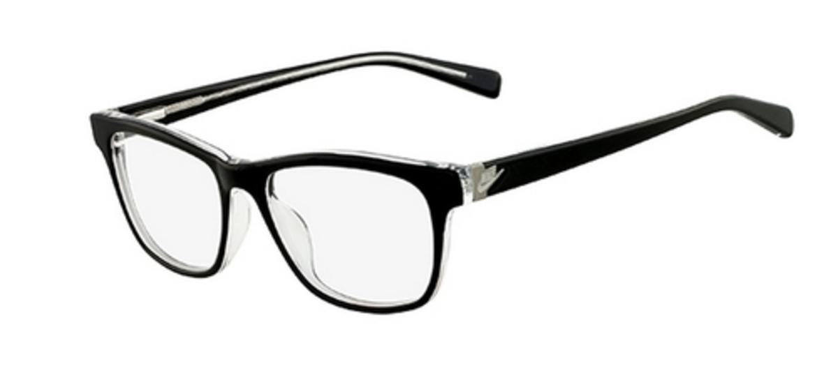 Nike Black Frame Glasses : Nike 5519 Eyeglasses Frames