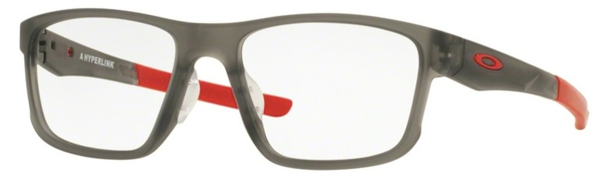 7dae53c85e3e0 Oakley Hyperlink (Asian Fit) OX8051 Satin Grey Smoke. Satin Grey Smoke