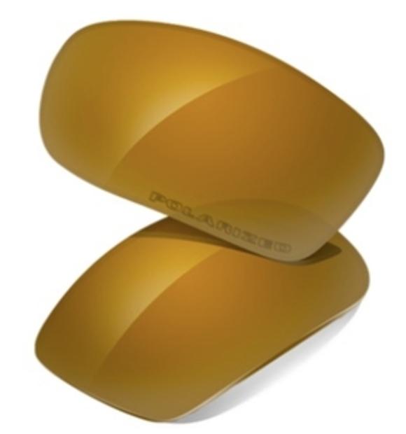 acbc8174e93 Oakley Replacement Lenses Polarized Gold Iridium Flak Jacket. Flak Jacket