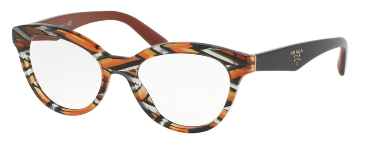 2daeb689bd7 Prada PR 11RV TRIANGLE Sheaves Grey Orange. Sheaves Grey Orange