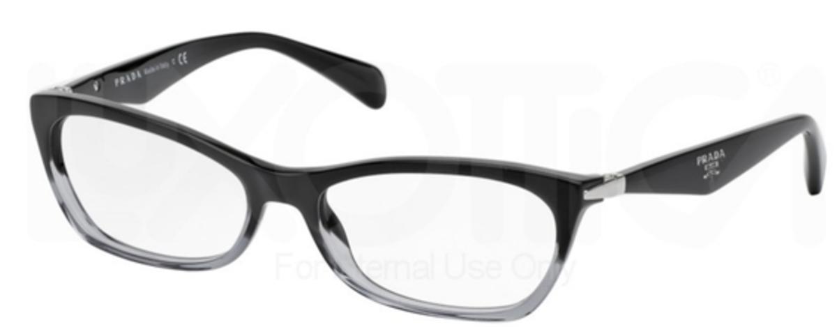 02d83ce3da6 Prada PR 15PV Swing Black Gradient Transparent. Black Gradient Transparent