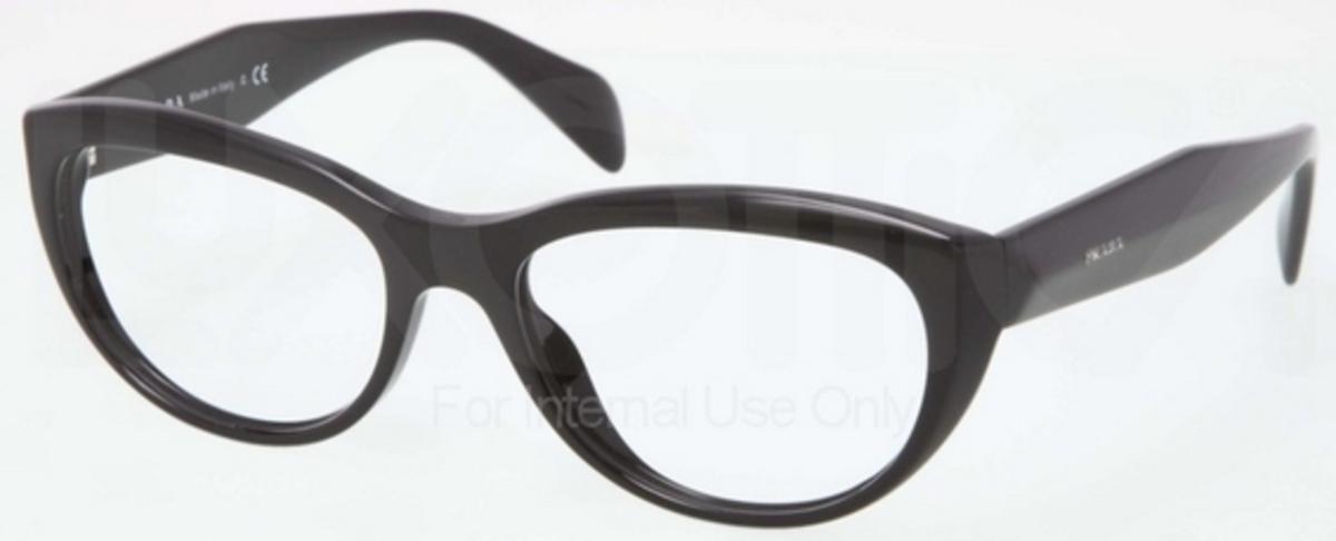 1a8dee6d9cc7 Prada PR 01QV JOURNAL 12 Black. 12 Black
