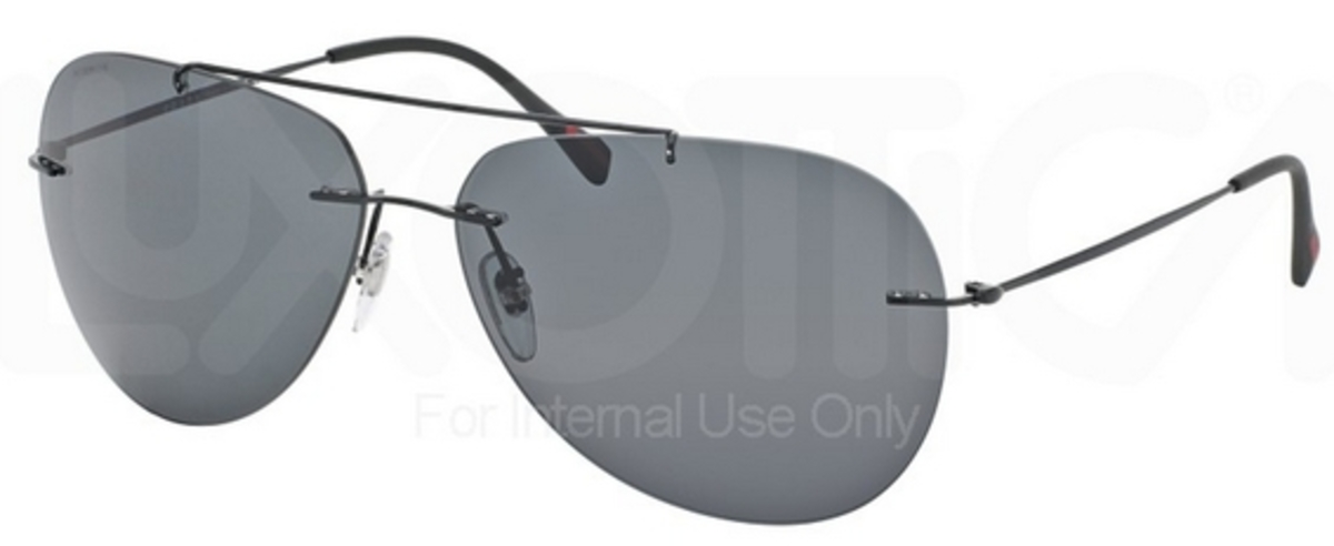 403514f72b8d Black Demi Shiny w  Gray Lenses 1BO1A1. Prada Sport PS 50PS RED FEATHER  Black w  Grey Green Lenses 7AX3O1
