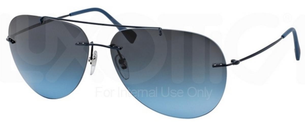 cb92e6126df2 Blue Demi Shiny w  Blue Gradient Lenses MA35I1. Prada Sport PS 50PS RED  FEATHER Cocoa Demi ...