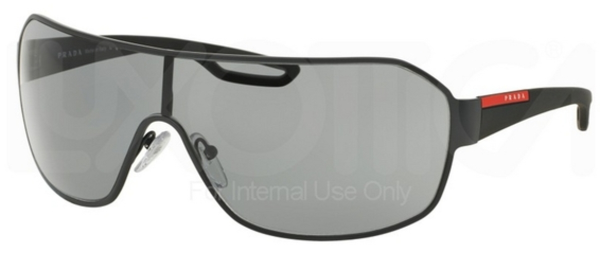 f4370c7ecb780 Prada Sport Ps 02ls Black Shield Sunglasses