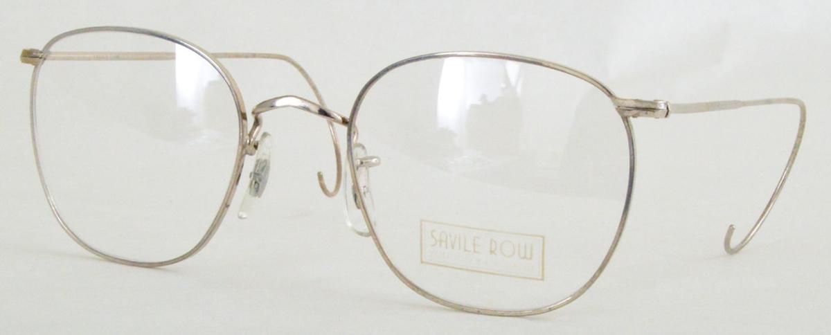 Savile Row Quadra 18Kt, Cable Temples Eyeglasses