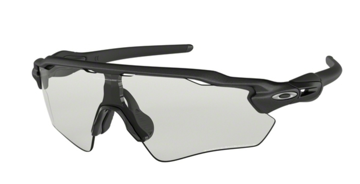 80564d23d7 Oakley RADAR EV PATH OO9208 13 Steel   Clear to Black Photochromic. 13  Steel   Clear to Black Photochromic