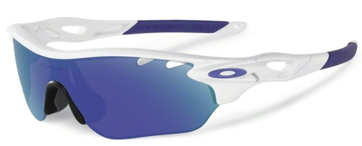 bd46252d16f Oakley RADARLOCK EDGE (Asian Fit) OO9209 Polished White with Violet Iridium  Lenses. Polished White with Violet Iridium Lenses