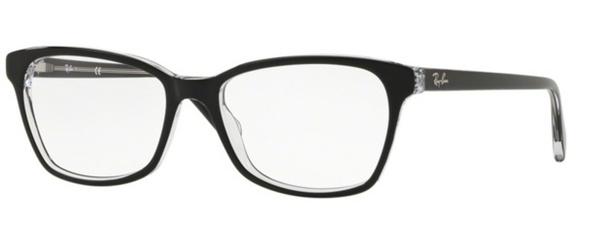 f964a591fc Ray Ban Glasses RB 5362 Top Black on Transparent. Top Black on Transparent