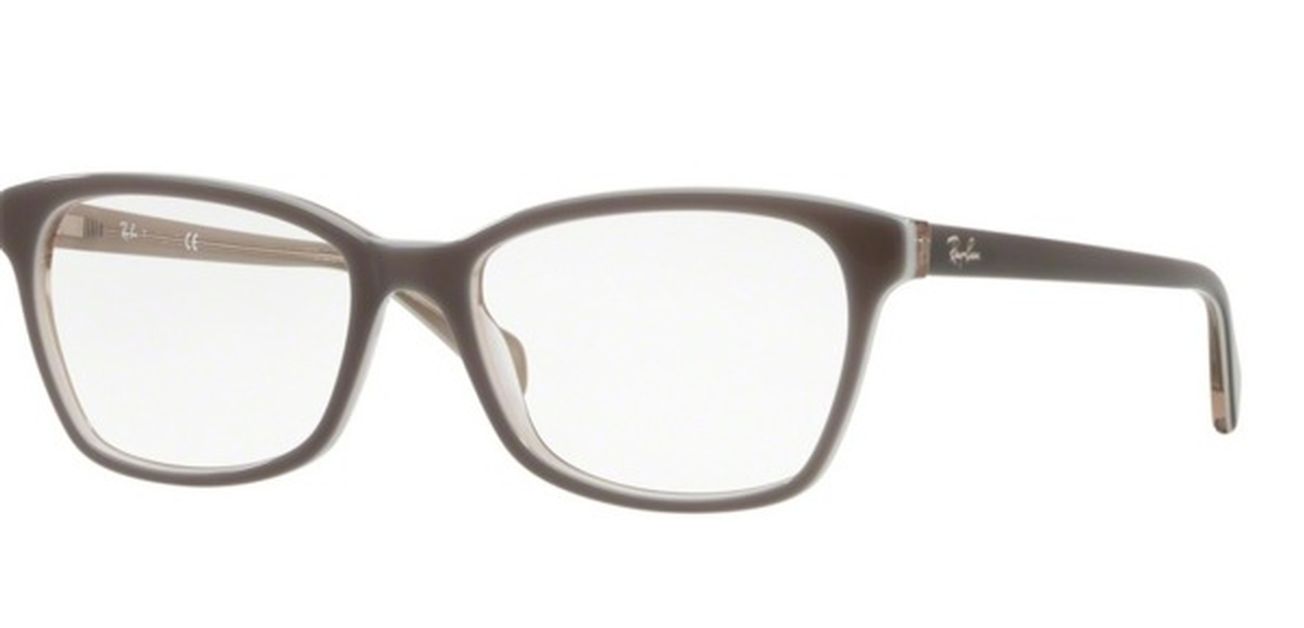 6247a4292bf9a Ray Ban Glasses RB 5362 Top Grey on Transparent Beige. Top Grey on  Transparent Beige