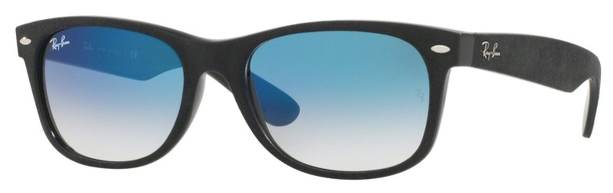 e2fd7a82cc Black Top Black Alcantara with Crystal Blue Gradient Lenses · Ray Ban  RB2132 New Wayfarer ...