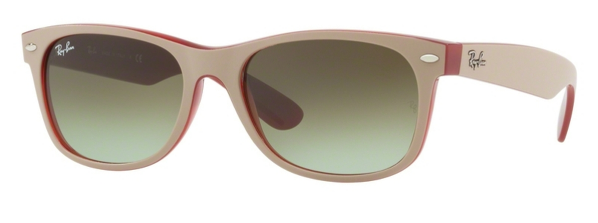 61be00283d Ray Ban RB2132 New Wayfarer Matte Beige On Opal Red. Matte Beige On Opal  Red · Ray Ban RB2132 New Wayfarer ...