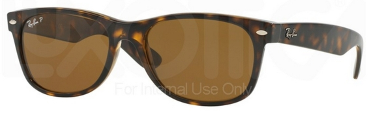 ray ban clubmaster polarized tortoise  Ray Ban RB2132 New Wayfarer Sunglasses
