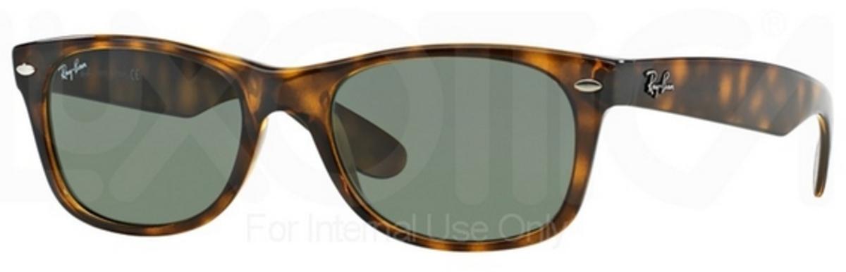 Ray Ban New Wayfarer Classic Sunglasses TortoiseBrown RB2132 710 55