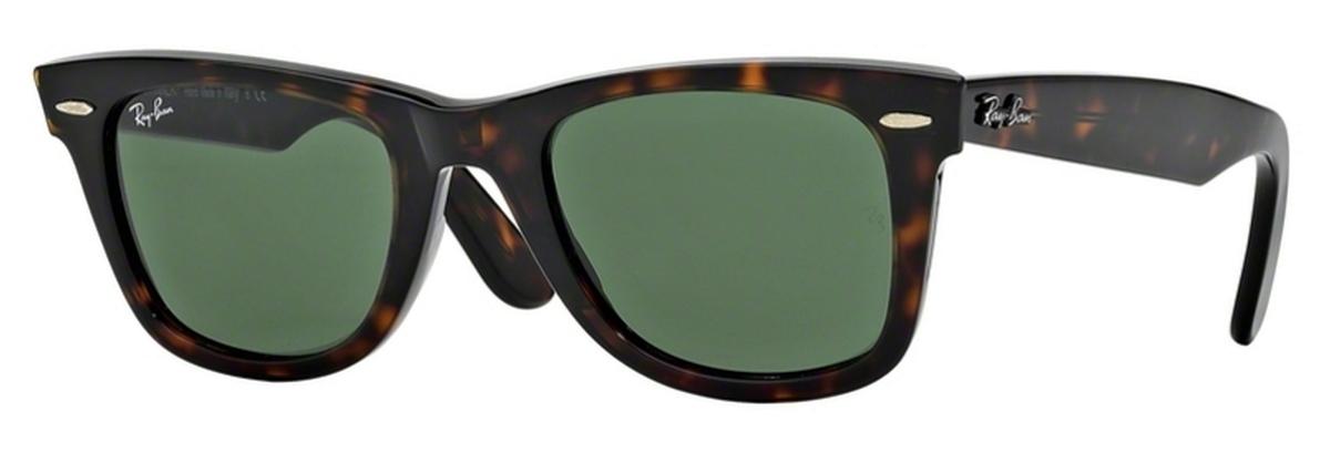 ray ban wayfarer 2140 tortoise 1458  Ray Ban Wayfarer Tortoise Green Lens