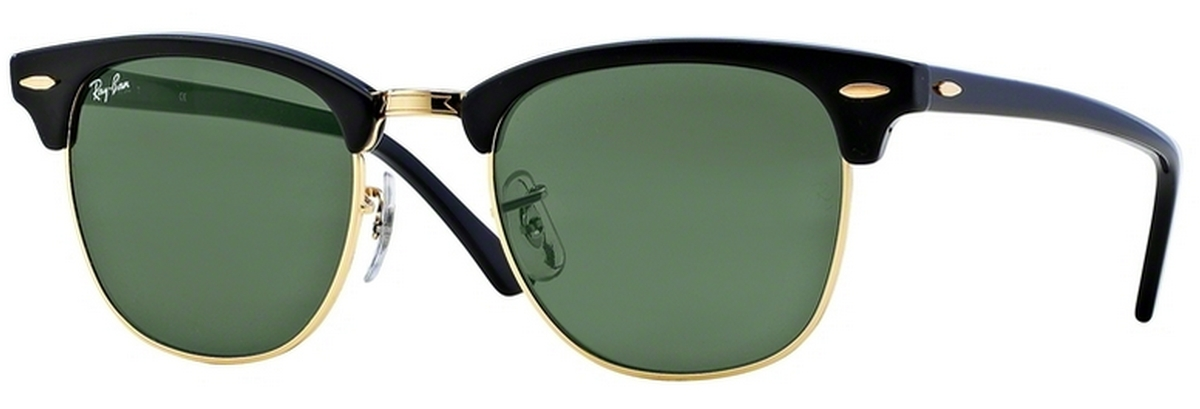 Ebony Arista w  Crystal Green Lenses · Ray Ban RB3016 Clubmaster ... e1a9bbea4a