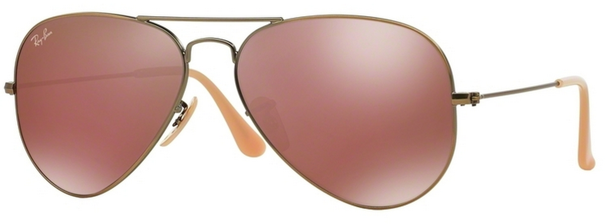 ff8825203b Demiglos Brushed Bronze w  Red Mirror Lenses 167 2K · Ray Ban RB3025  Aviator Large Metal Demigloss ...