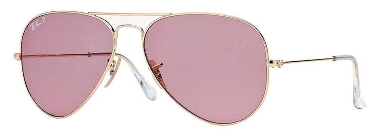 ray ban aviator pink  Ray Ban RB3025 Aviator Large Metal Eyeglasses Frames