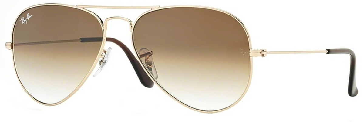 ray ban rb3025 aviator  Ray Ban RB3025 Aviator Large Metal Eyeglasses Frames